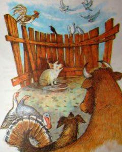 Картинаю Сказка для детей. Автор Толстой А.Н.